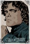 GAME OF THRONES - TYRION LANNISTER - poster by P-Lukaszewski