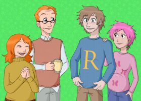 Lupin Weasley Jumpers by demonoflight