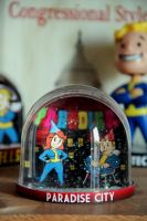 Fallout Snowglobe - Paradise City by iSeptem