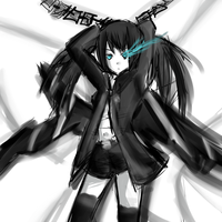 Black rock shooter by Roos-Vicee