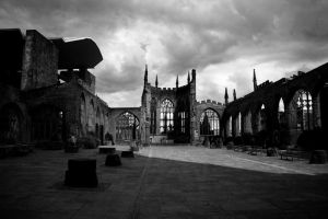 Cathedral Ruins by lydenyardley