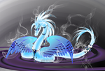 Cryonic Quetzacoatl by WingedHippocampus