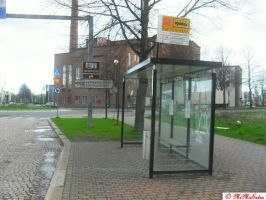 Riihimaki railway station bus stops 3 by MiMaExtra
