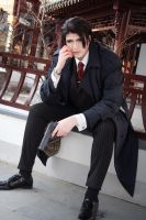 Viewfinder: Ryuichi Asami (Trenchcoat 1) by Etienne-Magique