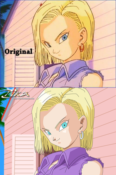 Android18 Difference by zika-arts