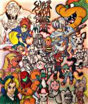 Super Smash Brothers Melee Collage by PretendanStudios