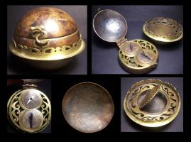 Steampunk Pirate Pocketwatch by MirabellaTook
