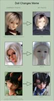 Doll changes meme 5 by ladyiolanthe