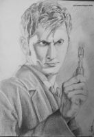 Doctor With Sonic Screwdriver by Scufix