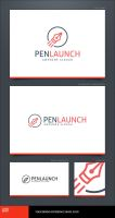 Pen Launch Logo Template by LogoSpot