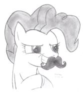 Mustache Pie by DrChrisman