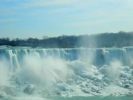 Close up Niagara falls by Callie6446