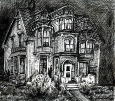 Victorian House by Oba-san