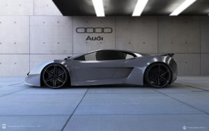 Audi XQ side view by wizzoo7