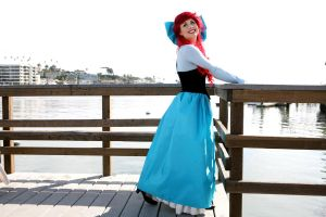 Ariel Little Mermaid Dress by trueenchantment