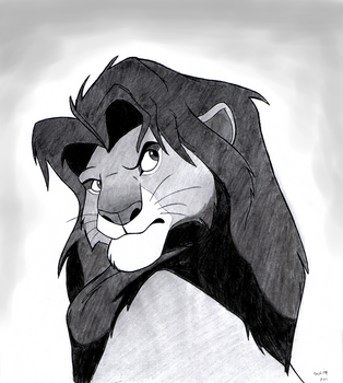 Adult Simba by BlueLink