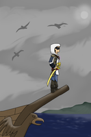Assassin's creed 4 Sky Edition by silverwing2254