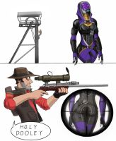 Mass Fortress Meet the sniper by spaceMAXmarine