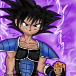 Dbz Turles cocky smile by Diamond-Rainbow