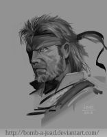 Solid Snake by Bomb-a-Jead