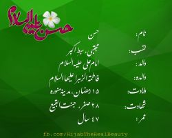 Imam Hassan Mujtaba a.s Biography by HijabTheRealBeauty
