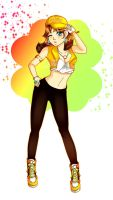 Princess Daisy hiphop Go look hee hee by Jennycah
