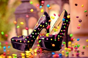 Black Candy Shoes by PhotoBySavannah