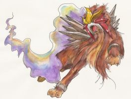 Entei by Ashuras2000