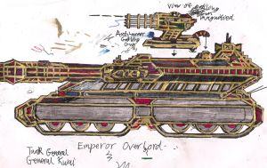 Gen Kwai Emperor Overlord Tank by Lord-DracoDraconis