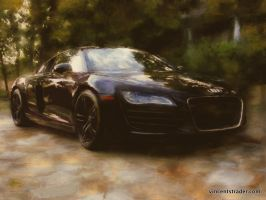 Dream Car Painting Audi R8 by Z-Vincent