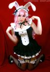 Super Sonico Bunny Maid! by srsRazzmatazz
