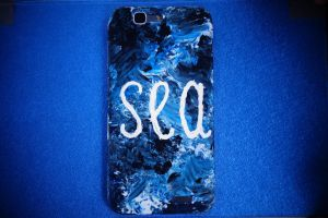 juicy sea on phone case by SunnyPencil
