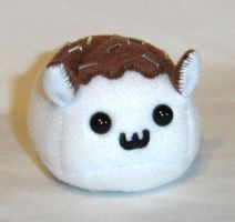 White Chocolate Puff Puggle by callykarishokka