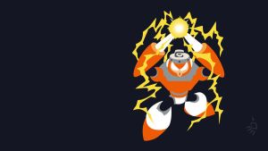 Spark Man Wallpaper by Krukmeister by Oldhat104