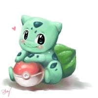 Baby Bulbasaur by Sukesha-Ray