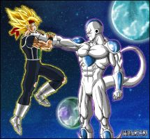 -DBM- Baddack VS King Cold by DBZwarrior