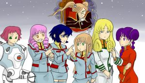 Macross Shoujo by mysterycycle