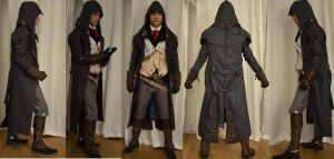 Assassins Creed Unity  Arno Dorian Cosplay  1 by KrishnaDammertArt