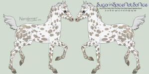 6995 Sugar'n'SpiceNotSoNice Design Holder by HoT-Stables