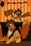 At the Halloween Party - OCX Octovember 2014 by Myrcury-Art