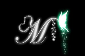 M Logo by BloodyChaser