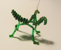 Beads: Praying Mantis by OoZepheroO