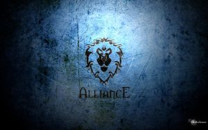 Alliance Wallpaper by Cybazaar
