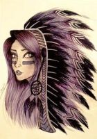 Feathers by caligrl7072