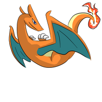 Charizard by SharkTuna