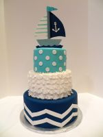 Nautical Baby Shower by Kiilani