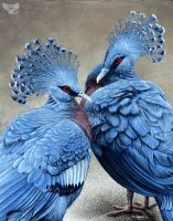 Crowned Victorians by ART-fromthe-HEART