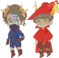 [CLOSED] Song Lyric Fantroll Adopts #3 by SignIess
