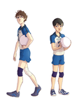 Young setters by Masthya