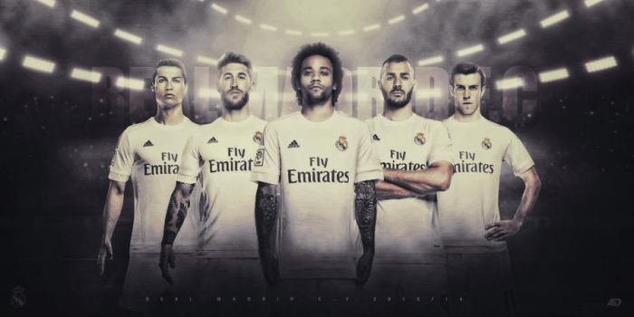 REAL MADRID 2015/16 by Achrafgfx